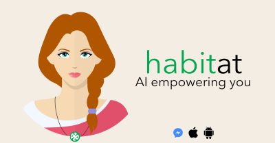 ANNOUNCING HABITat now available on Facebook Messenger